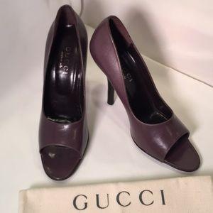 Gucci designer heels